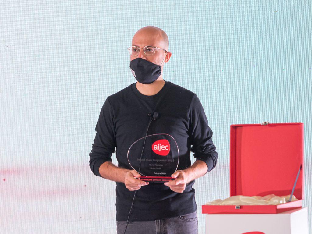 Marc Coloma (Heura Foods), guanyador del Premi Jove Empresari de l'any