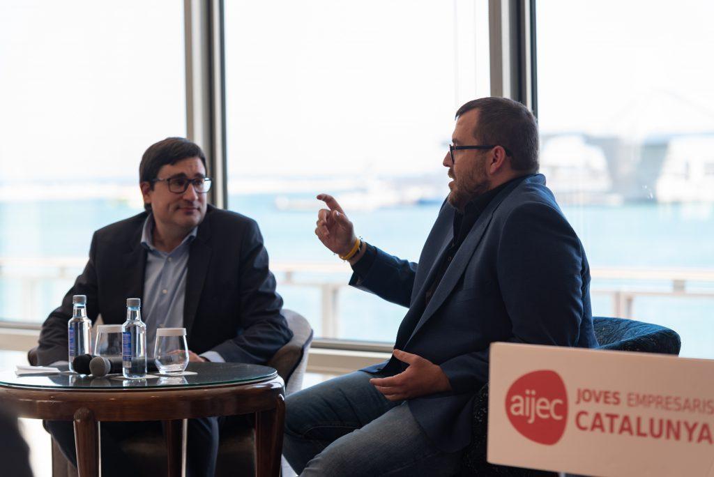 """Josep Fajula: """"Emprendre és un viatge de vida i per fer-ho millor envoltar-se d'amics i família"""""""