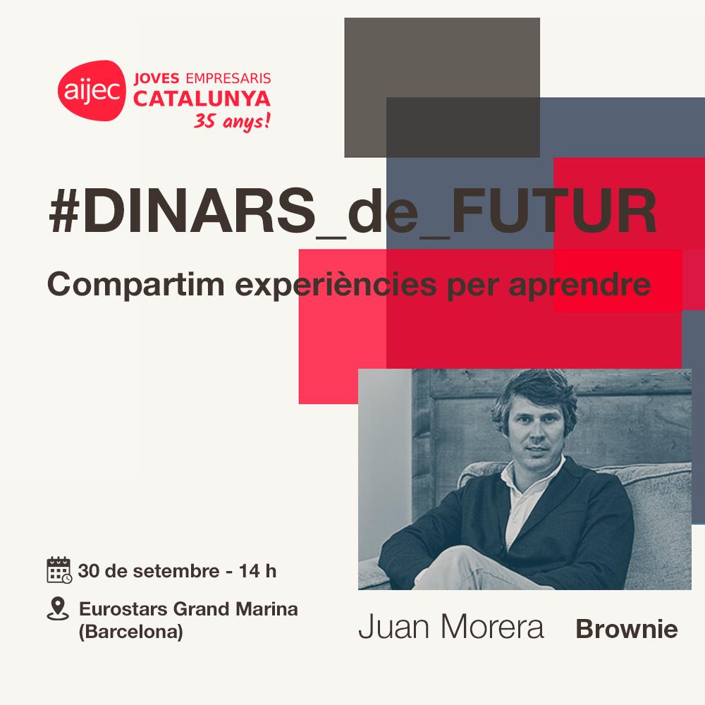 #DINARS_de_FUTUR: Juan Morera, director general de Brownie