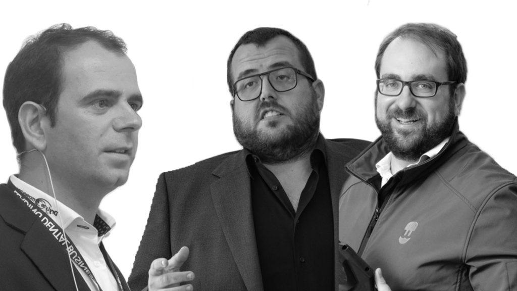 Enric Asunción, Josep Fajula i Pau Sarsanedas, finalistes del Premi Jove Empresari de l'AIJEC